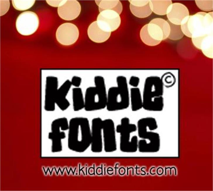 RUGRATS font by KiddieFonts