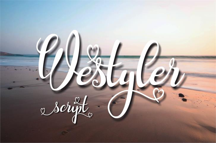 Westyler Font typography design