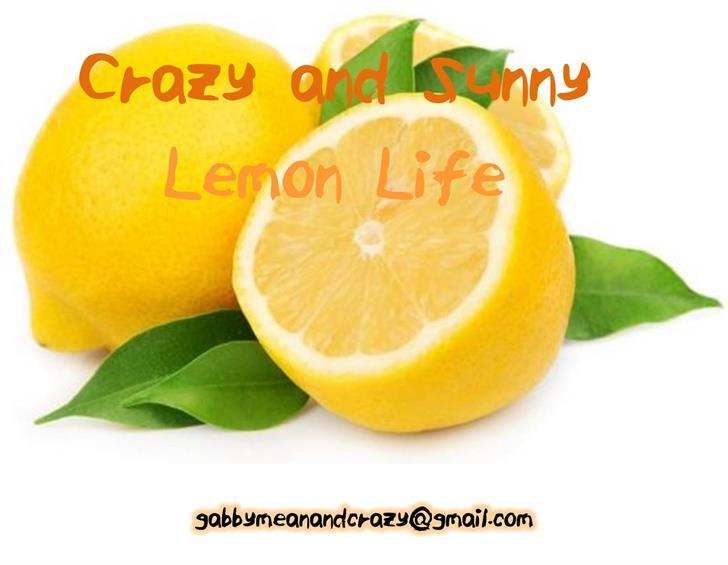 ELF_Crazy_and_Sunny_Lemon_Life Font lemon citrus