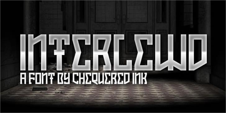 Interlewd font by Chequered Ink