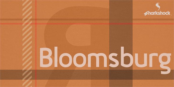 Bloomsburg Font screenshot design