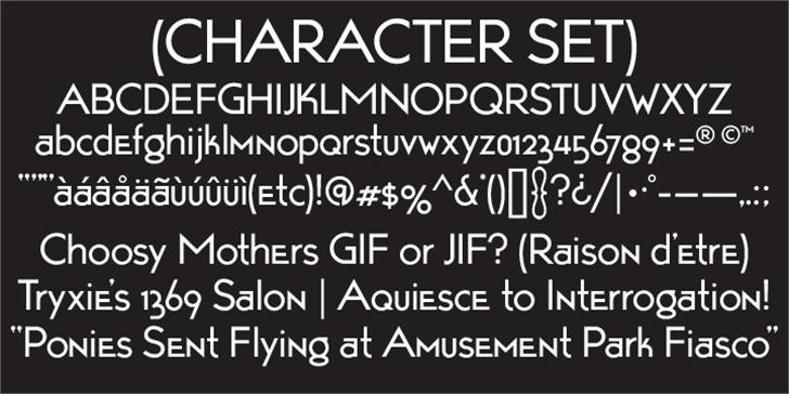 TarponMotel Font screenshot typography