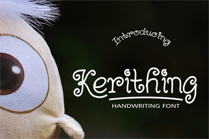 Kerithing Font bird