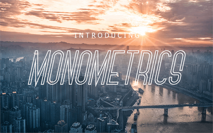 Monometrics Font outdoor track
