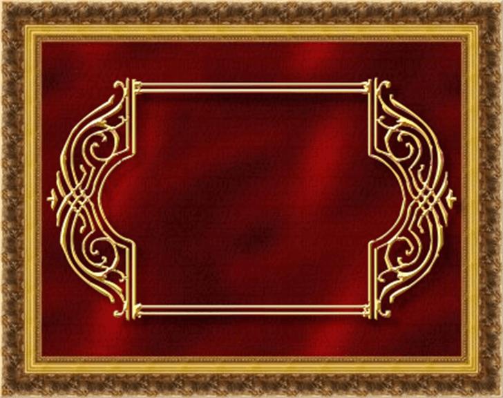 Vintage Panels_07 Font gold rug