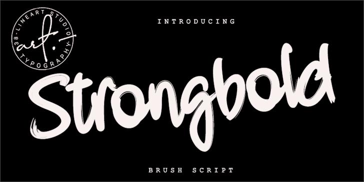 Strongbold Font design