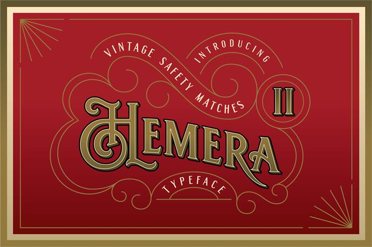 Hemera II DEMO font by Konstantine Studio