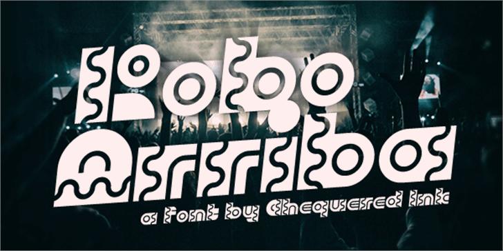 Robo Arriba Font poster screenshot