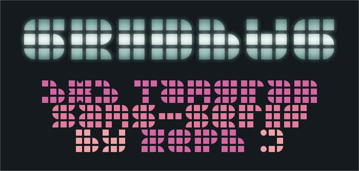 Gridbug Font screenshot window