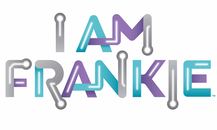 I Am Frankie Font design graphic