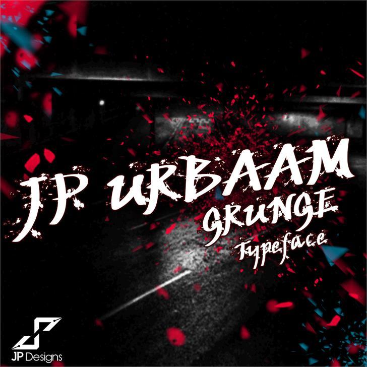 JP Urbaam DEMO Font design text