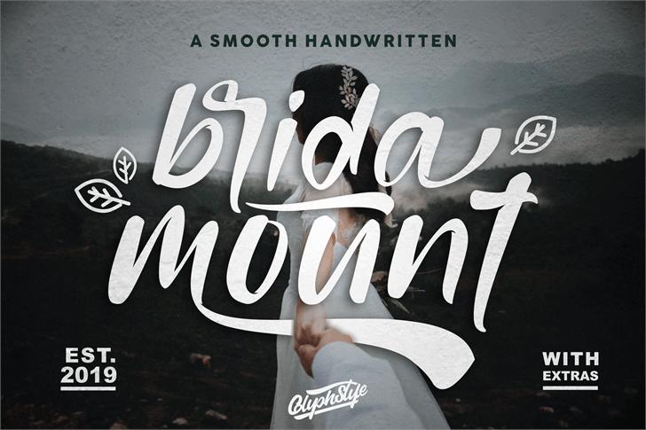bridamount Font poster