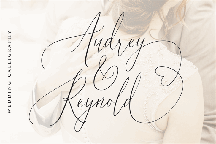 Audrey and Reynold Font handwriting