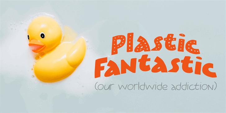 Plastic Fantastic DEMO Font poster