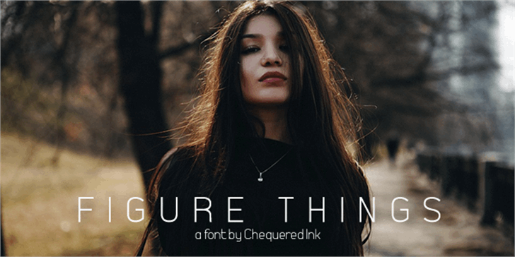 Figure Things font by Chequered Ink