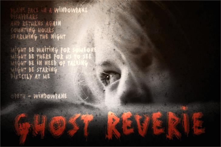 Ghost Reverie font by David Kerkhoff