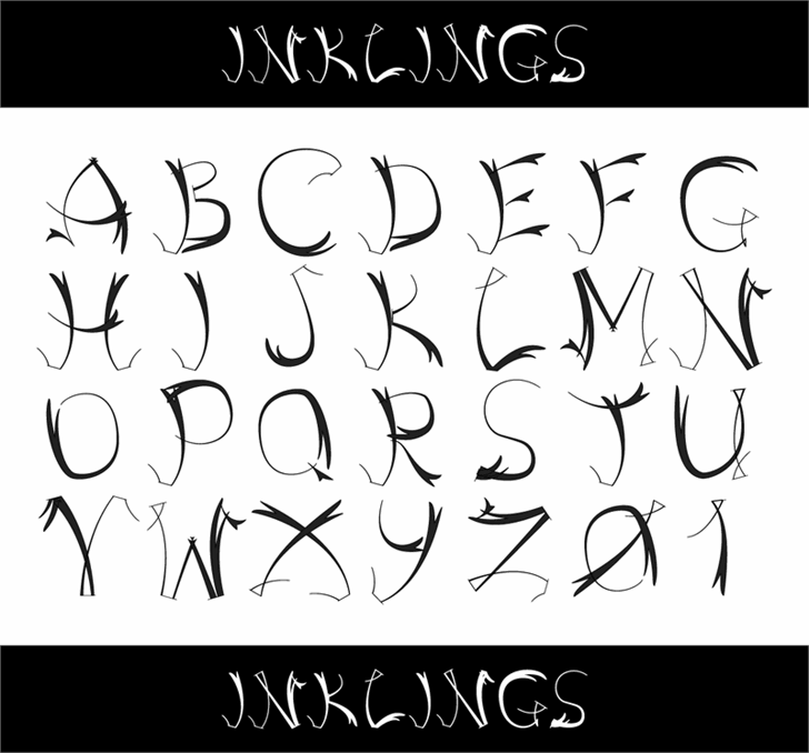 Inklings font by 404maciej