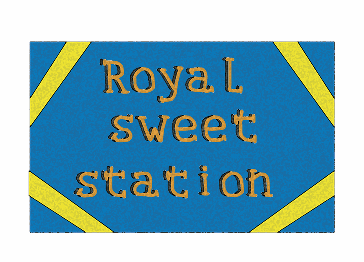 Royal sweet station font by Cé - al