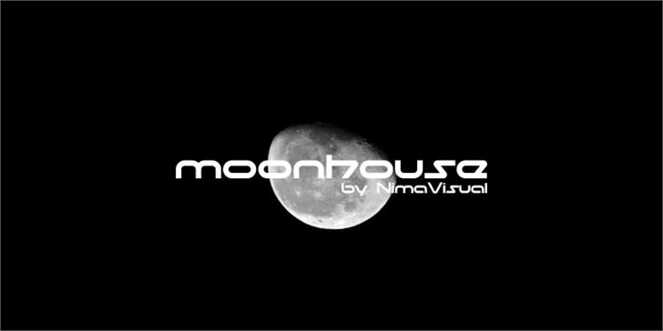 moonhouse Font moon screenshot