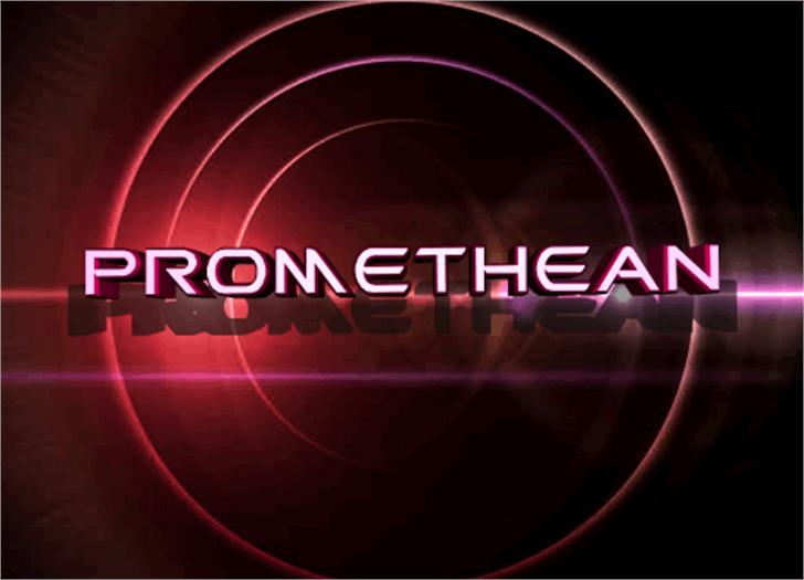 Promethean Font circle graphics