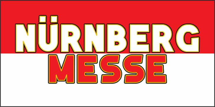 Nuernberg Messe Font design cartoon