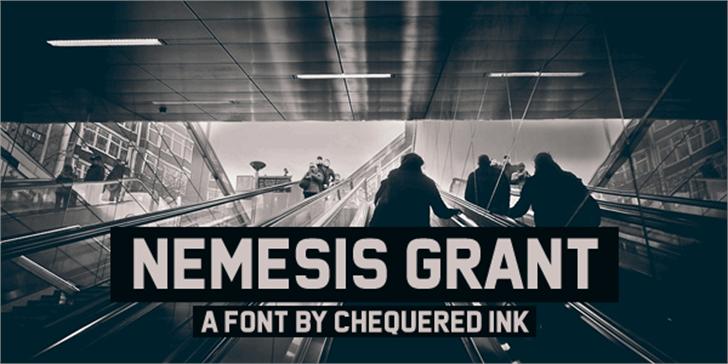 Nemesis Grant Font screenshot