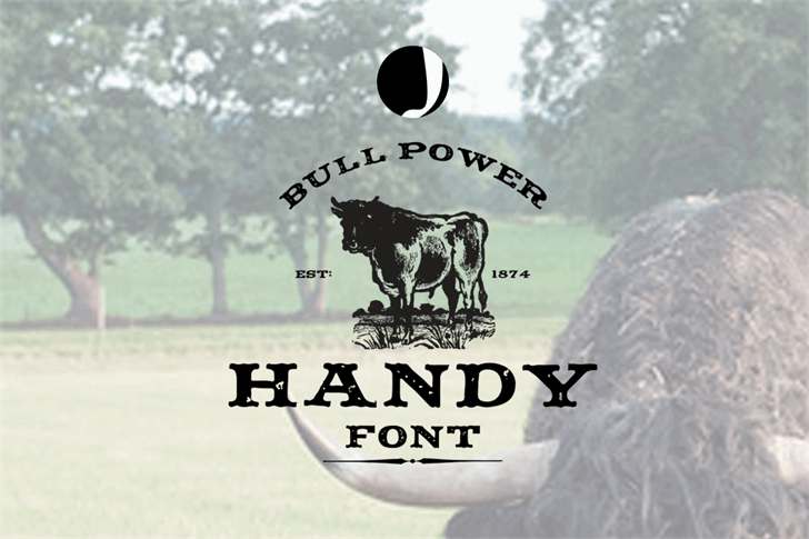 Handy Font tree animal