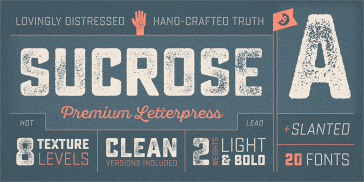 Sucrose Bold Two DEMO Font poster text