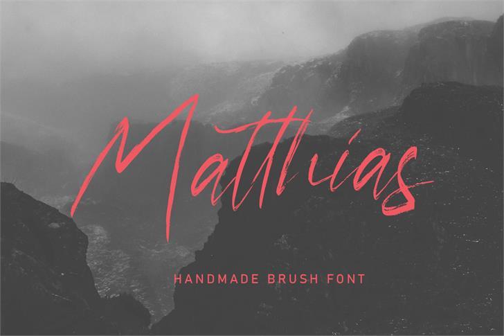 Matthias Font poster