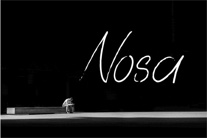 Nosa Font light