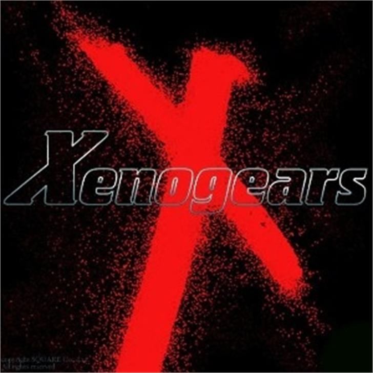 Xenogears font by The Holitter Studios®