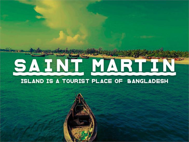 Saint Martin Font water screenshot