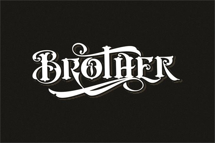 Cester Shire Font design typography