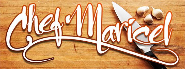 Chef Maricel Font indoor wooden