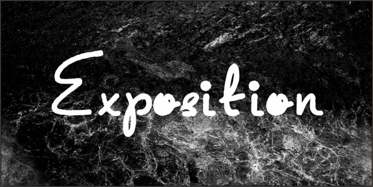 Exposition Font outdoor grass