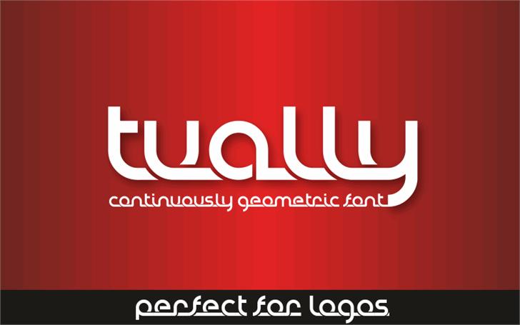 Tually Demo Font poster