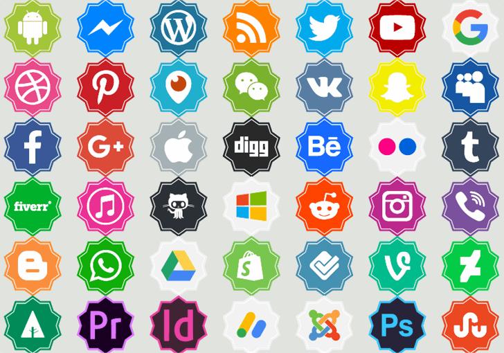 Font logos Color Font cartoon design