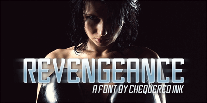 Revengeance Font screenshot poster