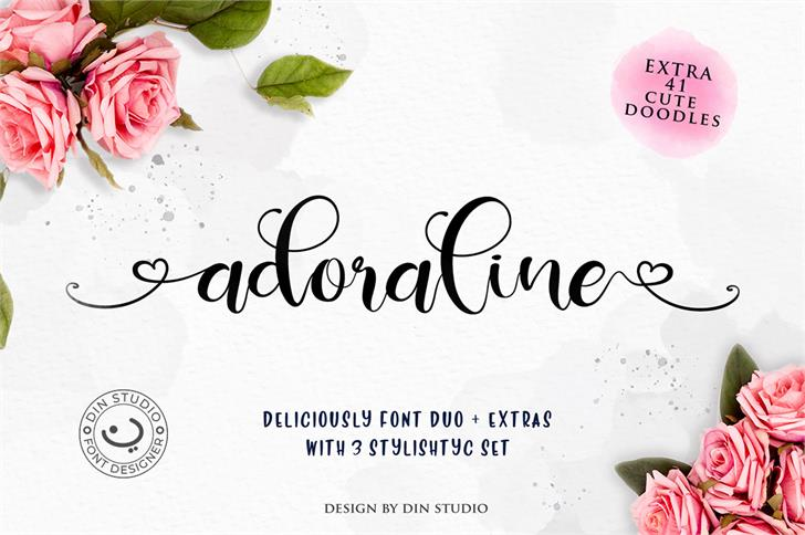 Deliciously Regular font by Din Studio