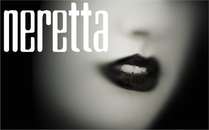 Neretta Font cosmetics design