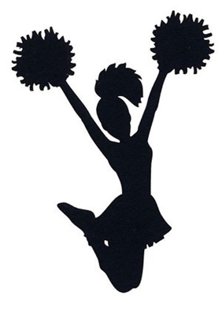 cheerleader Font cartoon sketch