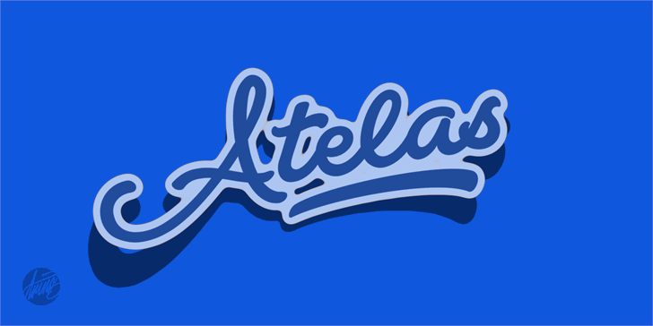 Atelas Personal Use Only font by Måns Grebäck