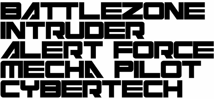 Cyberspace font by Purdy Design