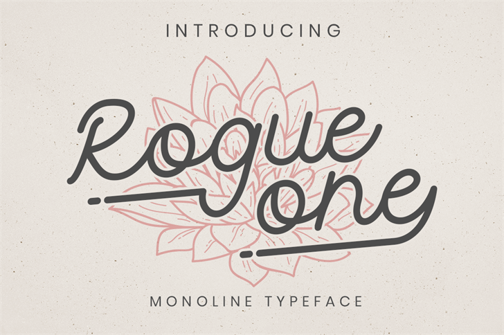 Rogue One Personal Use Font poster