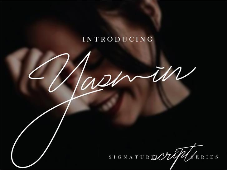 Yasmin Font poster