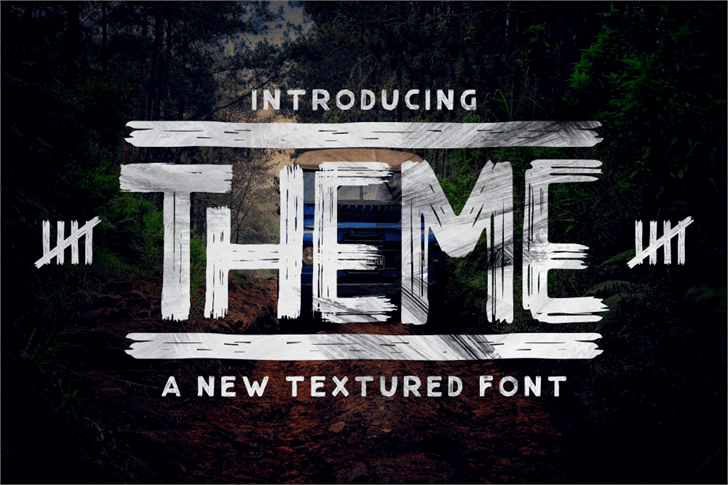 THEME font by Garisman Studio