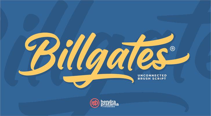 Railgates Font poster