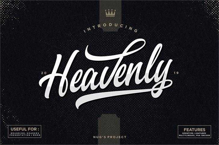 Heavenly  font by Nug's Project