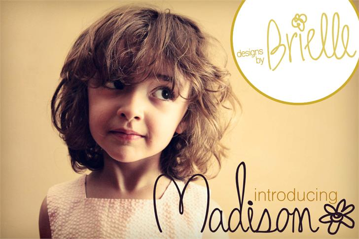 Madison font by Designs by Brielle