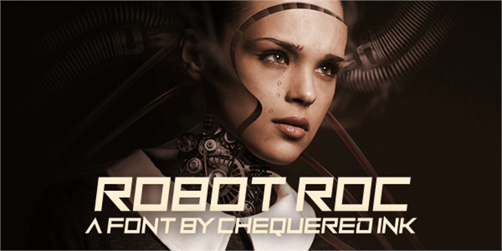 Robot Roc Font screenshot poster